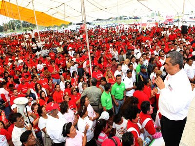 Mayor seguridad para Puebla ofrece Zavala