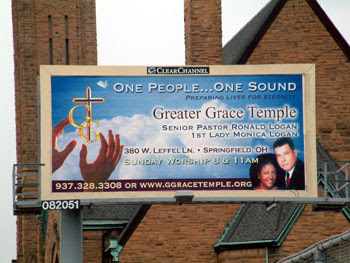 church billboards