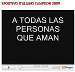 VIDEO ITALIANO CAMPEON