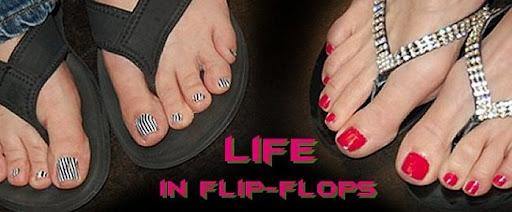 life in flip-flops