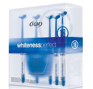 Odonto Geraes Clareador Dental Whiteness Perfect 16 Kit C 6