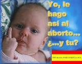 Yo le hago así al aborto