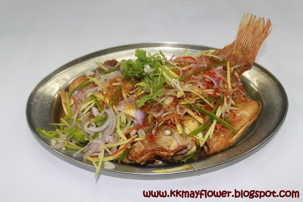 KK Mayflower Restaurant: Fish Dishes