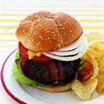 Weight Loss Recipes : BLT Burger