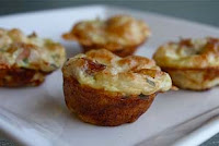 Weight Loss Recipes : Broccoli and Cheddar Mini-Frittatas