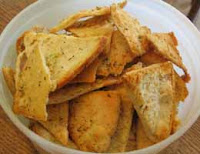 Weight Loss Recipes : Garlic Pita Chips