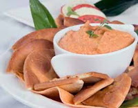 Weight Loss Recipes : Roasted Red Pepper Dip