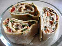 Weight Loss Recipes : Tortilla Pinwheels