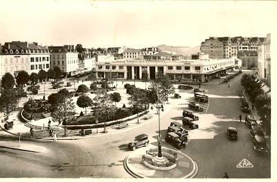 Place Clémenceau pau 1900