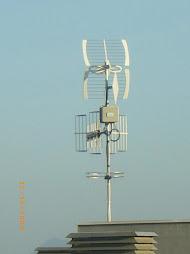 Instal·lació WIMAX del Ajuntament