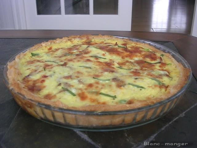 Dans la cuisine de blanc manger quiche lorraine for Cuisine quiche lorraine