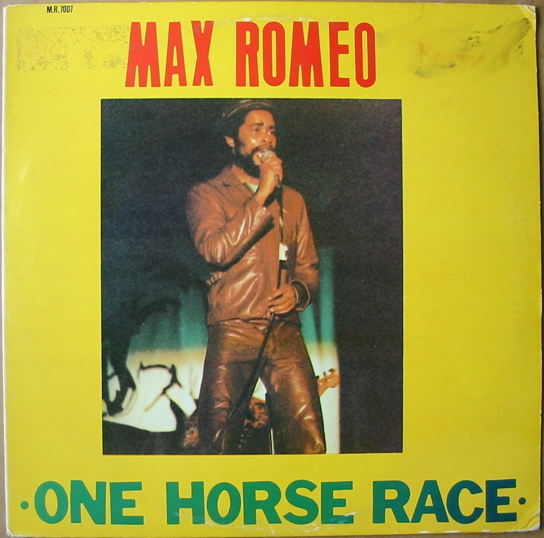 Max+Romeo+-+One+Horse+Race+-+front