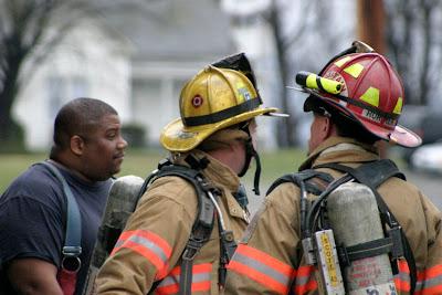 Lt. Darren Parker is on the left