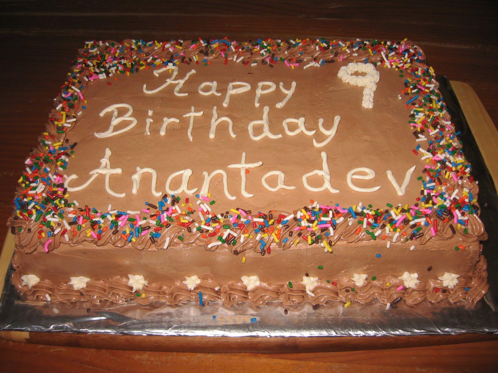 Varacitas Bakery Konditorei Chocolate Birthday Cake