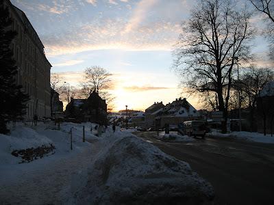 Blick zur Wolkensteiner Straße