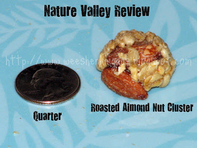 Wee Shenanigans: Nature Valley New Granola Nut Clusters Review