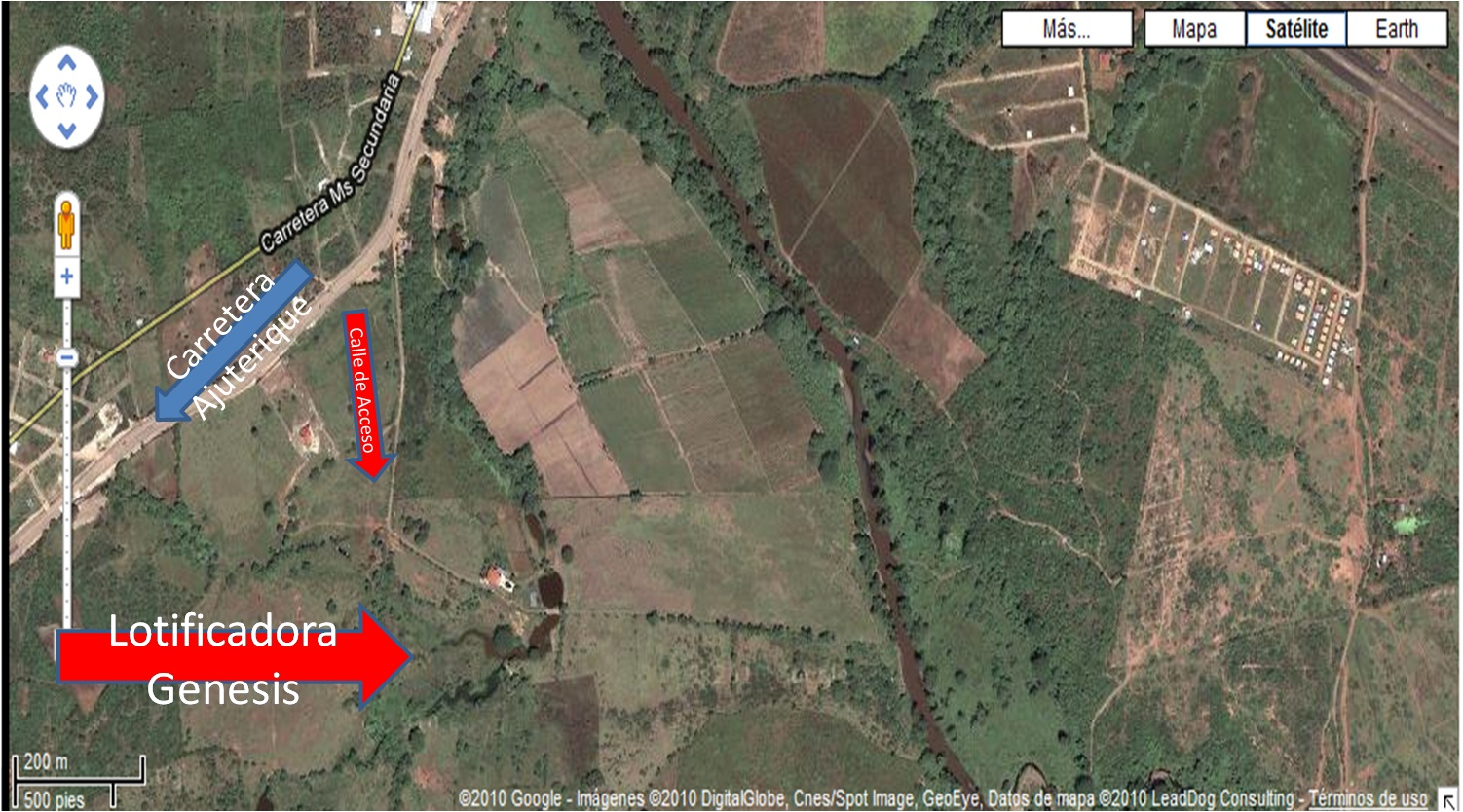 venta de terrenos en comayagua: Plano de Lotificadora