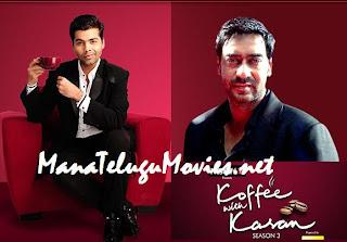 Ajay Devgan in Koffee with Karan 3 -30th Jan