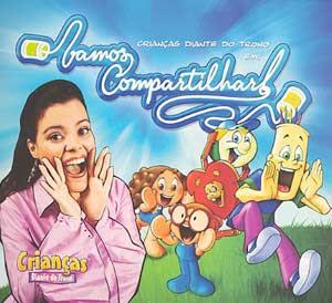 Crianças Diante Do Trono 4   Vamos Compartilhar! (2005) | músicas