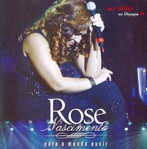 DVD  - Rose Nascimento - Para O Mundo Ouvir (Ao Vivo No Olympia) DVDrip