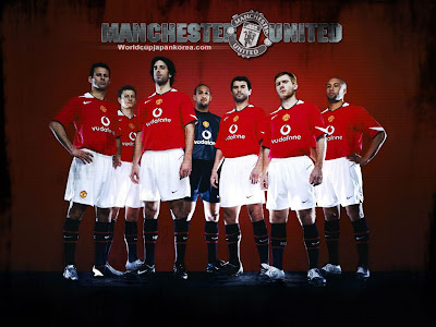 Man United Wallpapers. Man Utd 07/08 Wallpapers