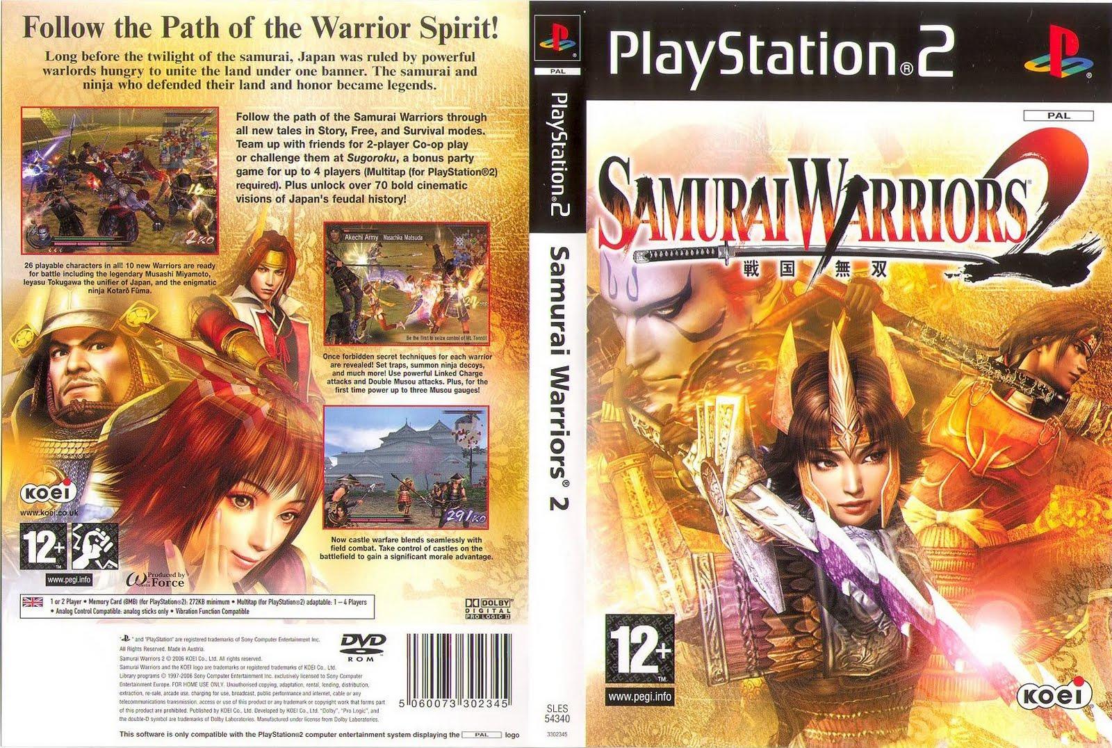 Download - Samurai Warriors 2 - PS2 - ISO