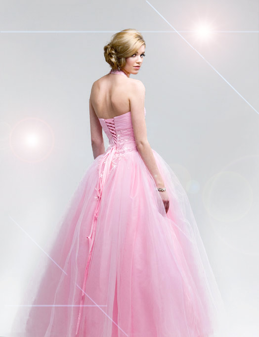 Pink prom dresses design for 2010 prom dresses for Pink homecoming dresses