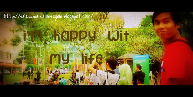 i`m happy wit my life