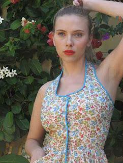 Scarlett Johansson Rachel Antonoff 2009