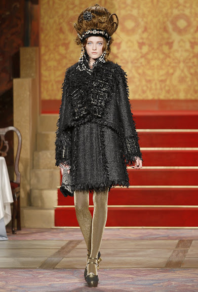 Chanel Pre-Fall 2009 collection Paris-Moscow