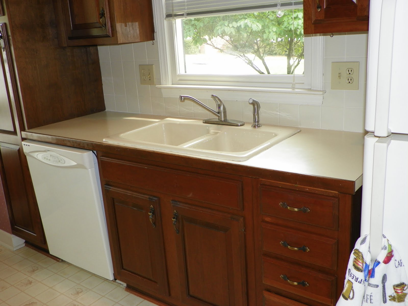 The solid surface and stone countertop repair blog retro for Corian countertops