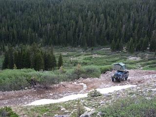 Nathans Jeep In Colorado