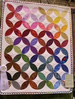 Lafayette Orange Peel Patchwork Quilt Pattern | Purple Kitty