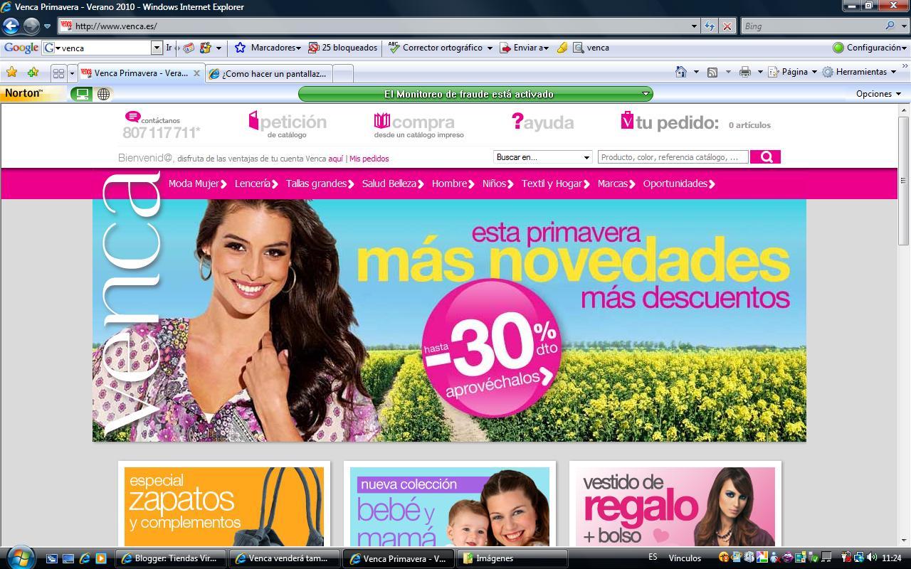 Tiendas virtuales venca introduce nuevas marcas en su - Venca catalogo hogar ...