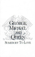 """Somebody To Love"" George Michael & Queen"