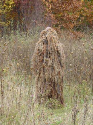 Armchair Asia: Wearing the Ghillie suit