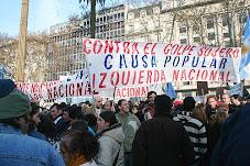 En la Plaza, con Causa Popular