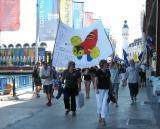 Kiwi victory march
