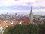 View of Bratislava from the Castle