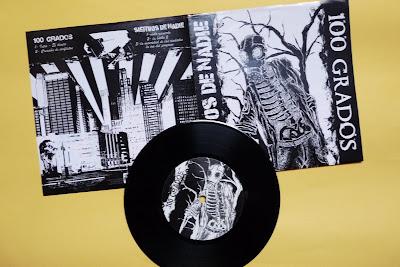 100 GRADOS / SIERVOS DE NADIE - Split  EP