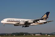 9VSKBSingapore AirlinesAirbus A380841 (skb )