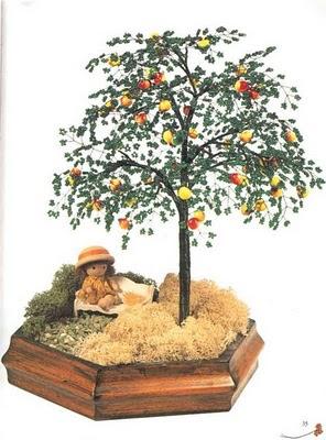 бонсай яблоня своими руками