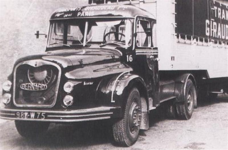 camions d u0026 39  antan et actuel  les camions bernard