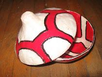 caseta din ceramica