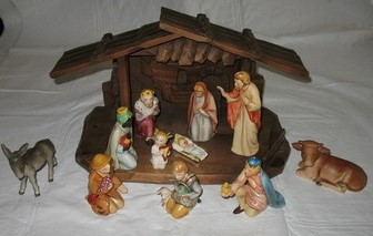 Hummel Nativity Scene