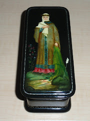 Fedoskino Princess Russian Lacquer Box