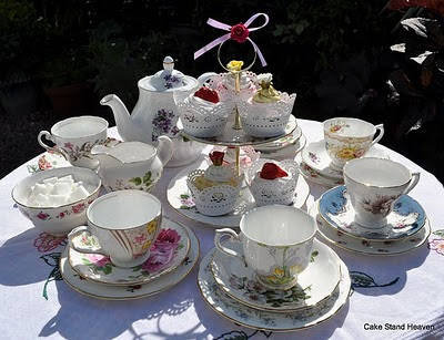 Mad Hatter's Tea Party set