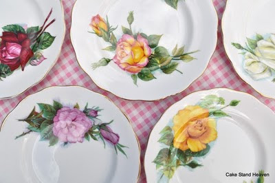 Royal Standard vintage tea plates