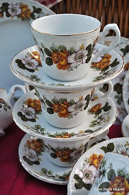 Royal Tudor Teacups