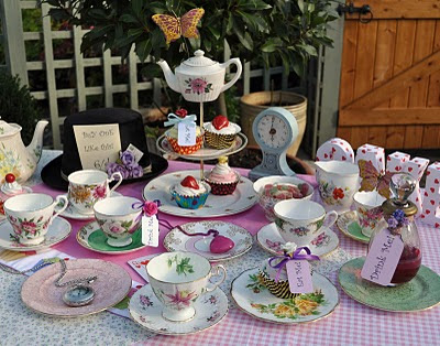 Mad Tea Party tea set